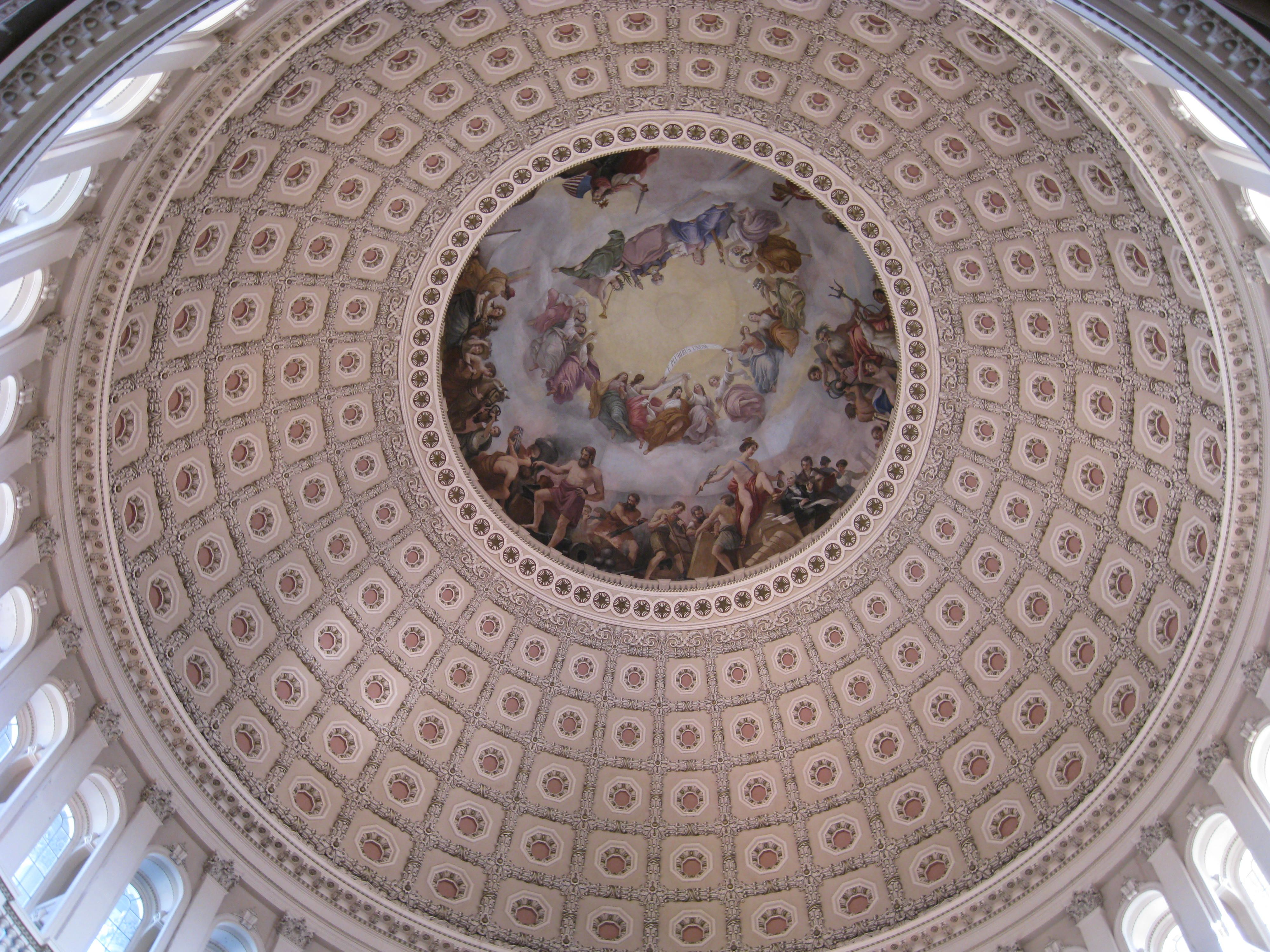 Photo: Inside the US Capitol Dome | Where is Yvette?