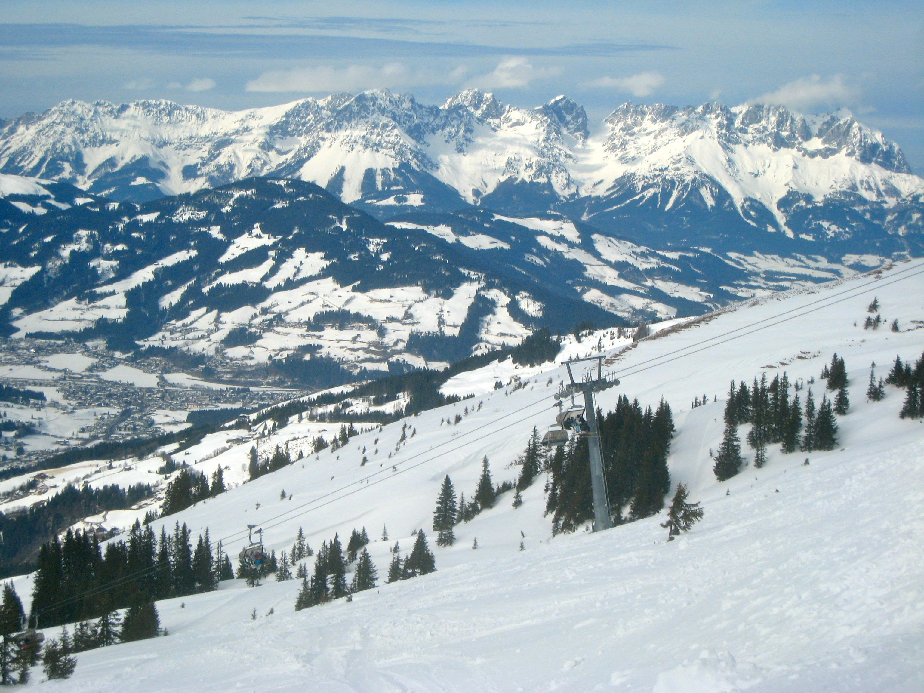 photo austrian ski slopes where is yvette