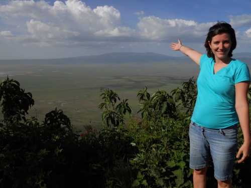 girl-at-ngorongoro