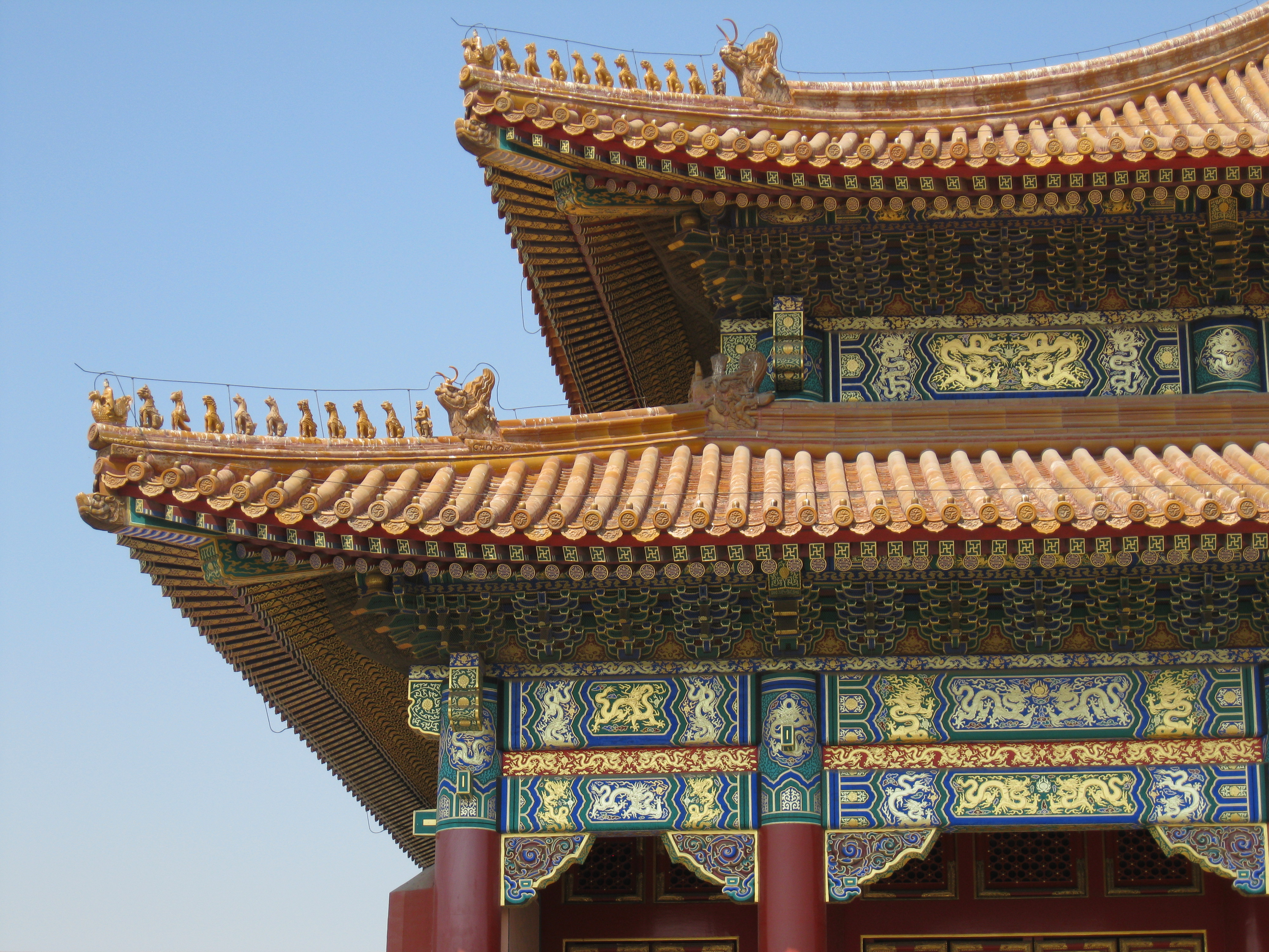 roof Asian picture style gables