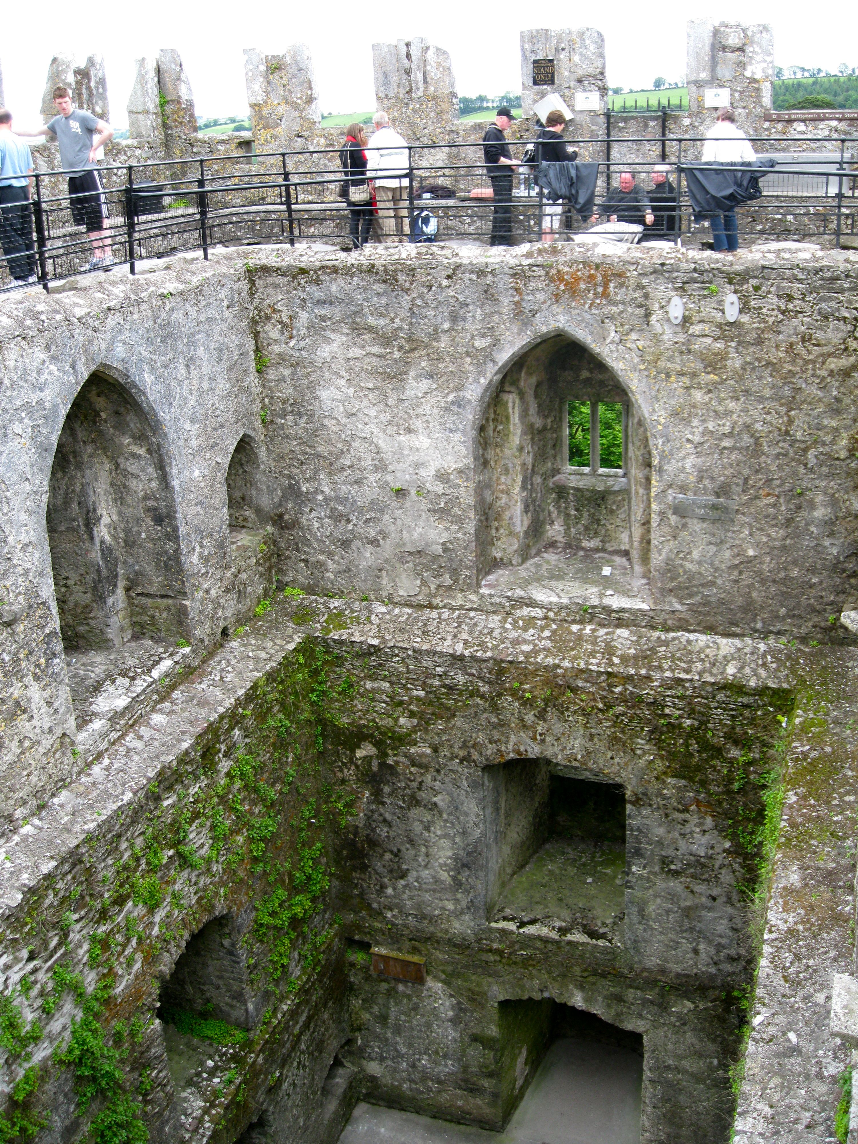 I visited the blarney castle but didn t kiss the stone for The blarney