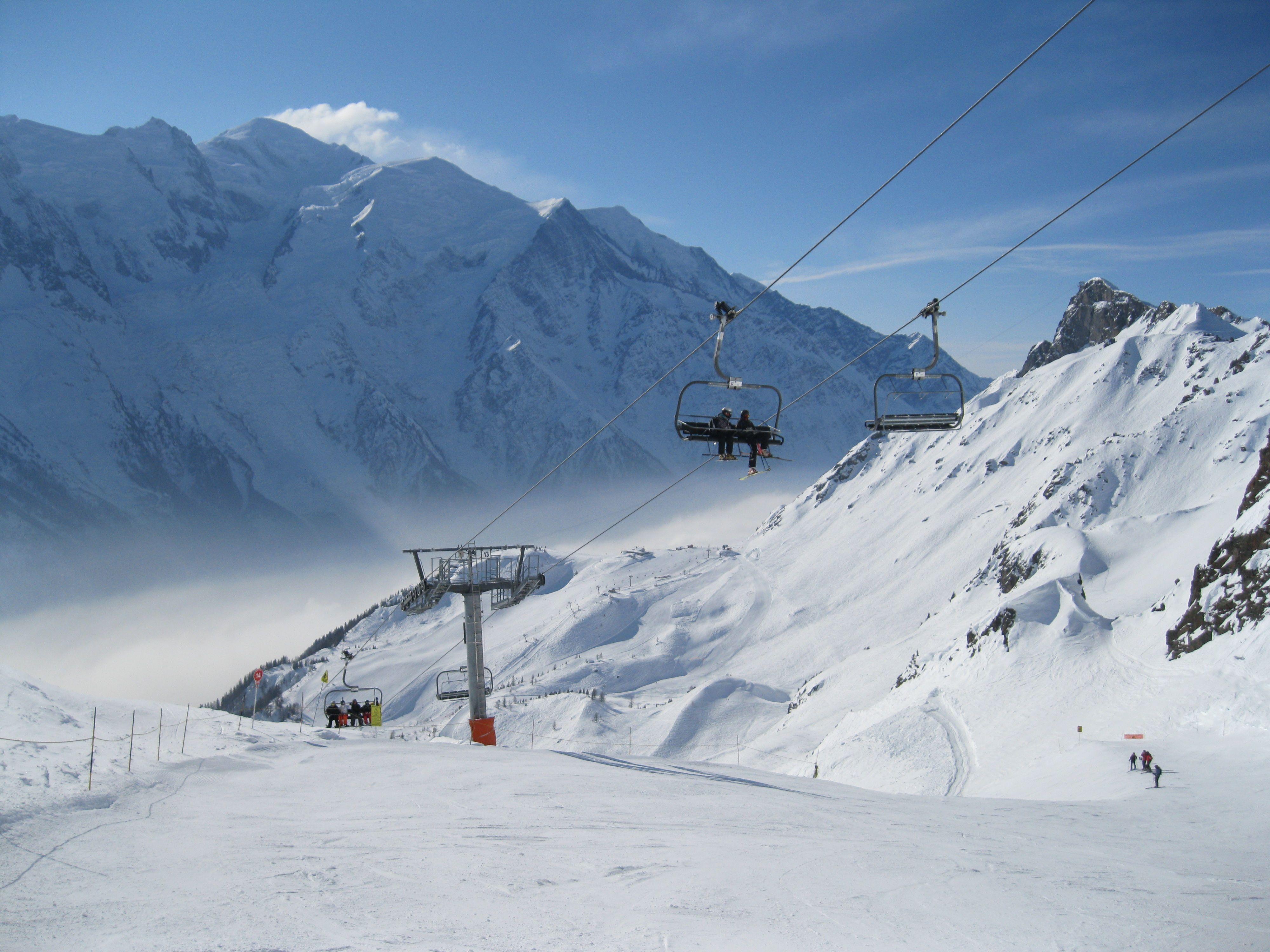 chamonix skiing   where is yvette?