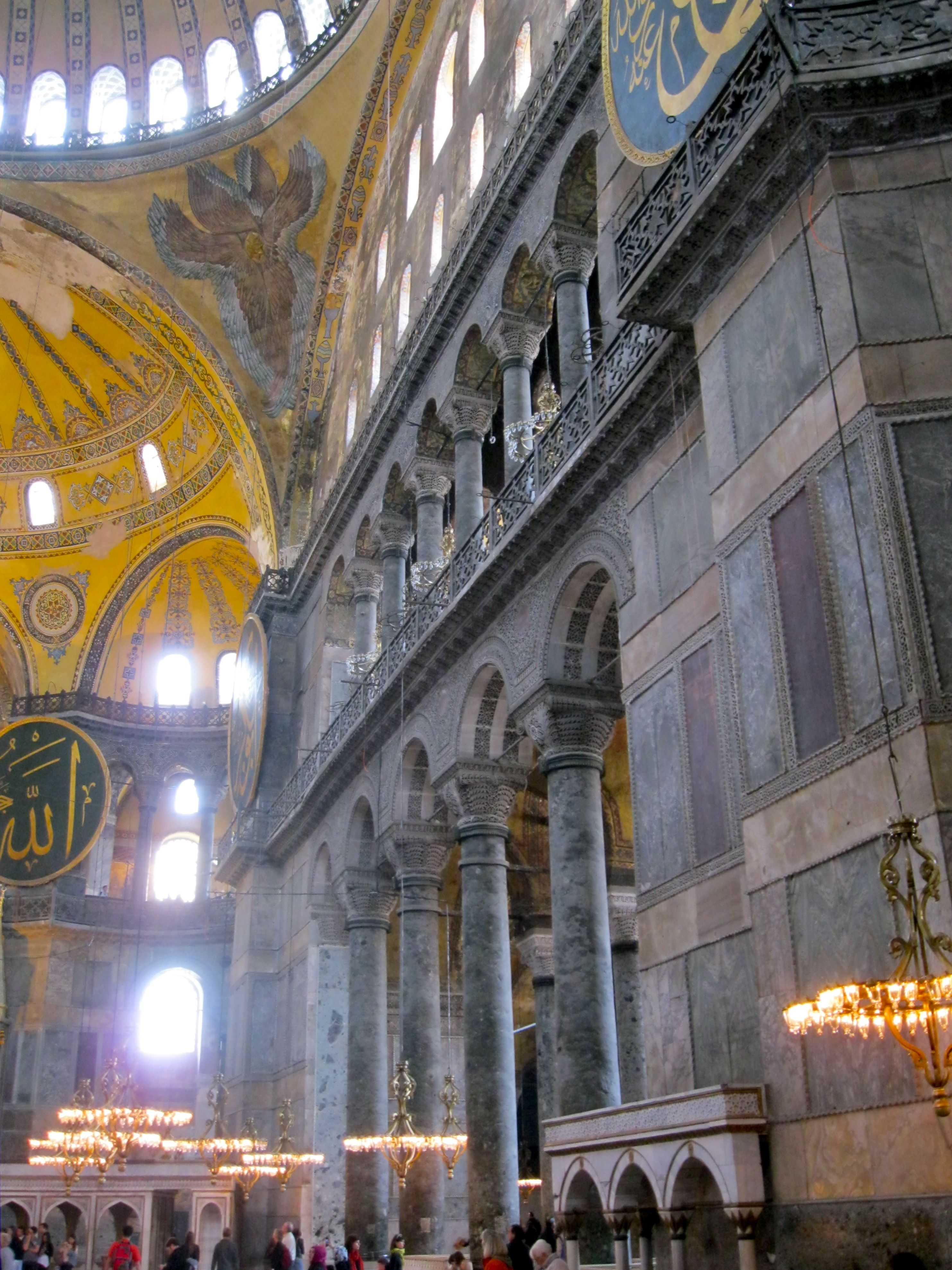 Hagia sophia where is yvette for Architecture byzantine
