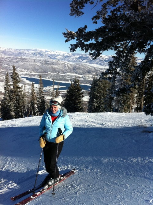 Skiing Deer Valley