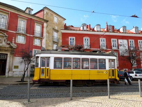 lisbon-yellow-tram