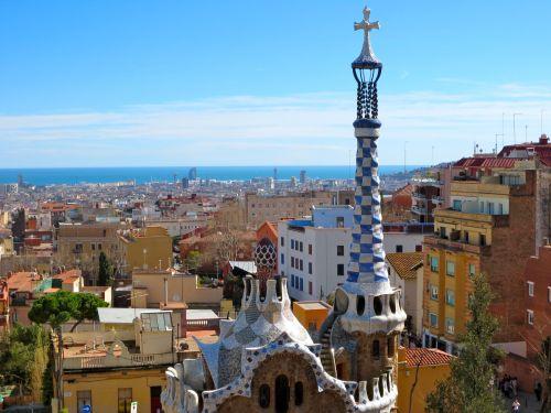 gaudi-park-barcelona-view