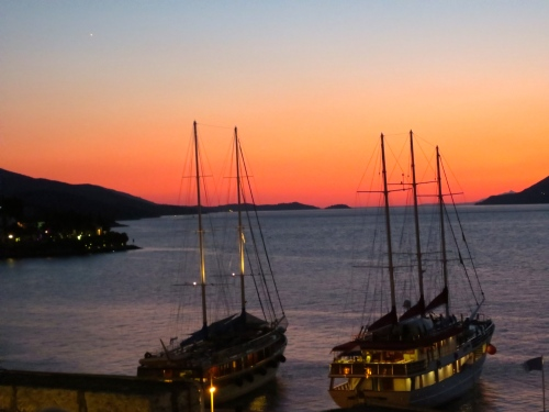 korcula-sunset