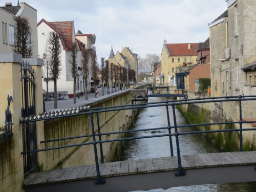 The Bridges of Valkenburg in the southern Netherlands