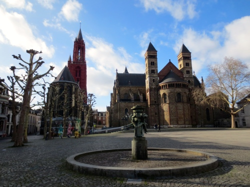 Maastricht, Netherlands- about as far south as you can get and still be in the country, with definite French influences!